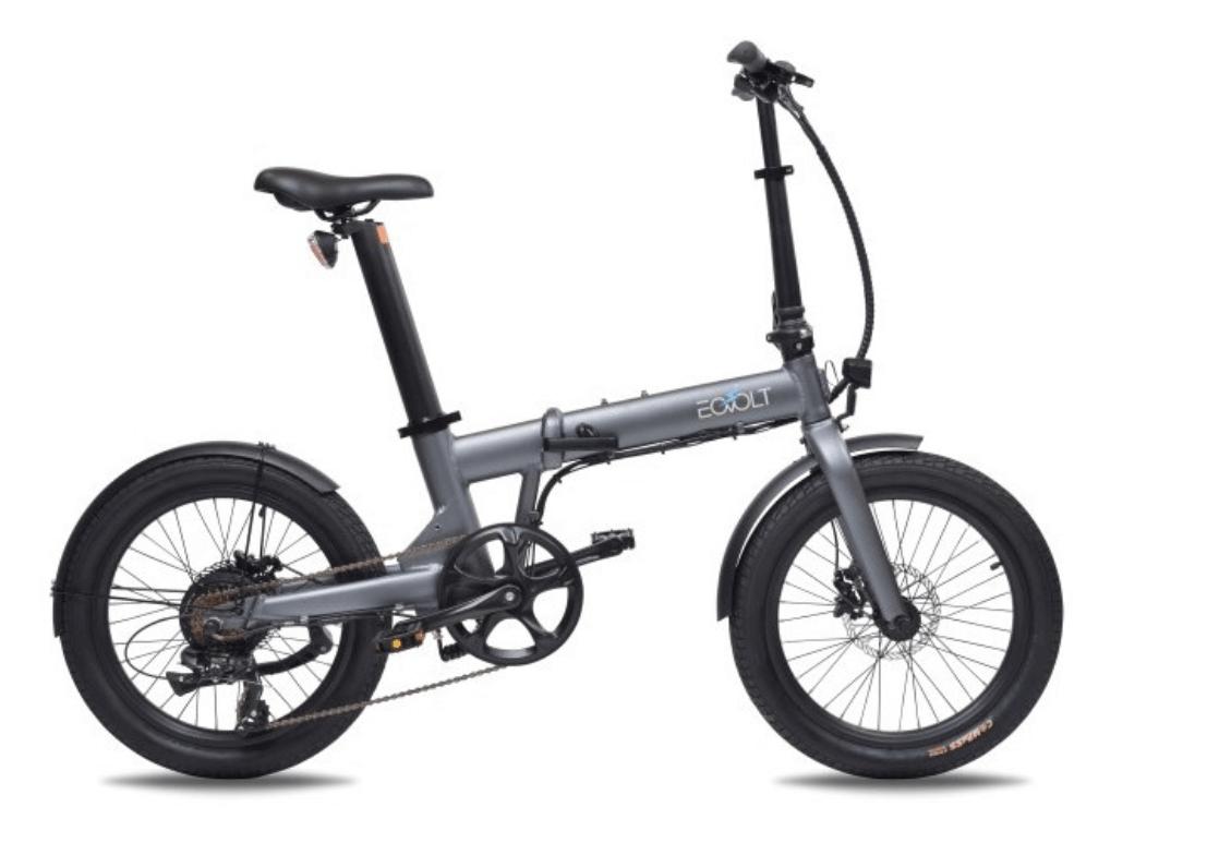 Electric Folding Bike 20 inch EOVOLT Comfort Grey