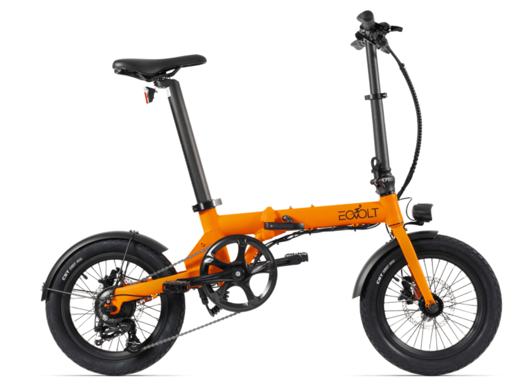 Electric Folding Bike EOVOLT City 4 Speed Orange